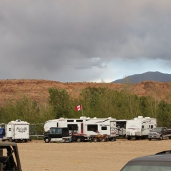 Camping at Arena in Moab