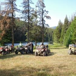 Ready to leave Swartz Lake