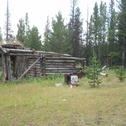 Old Gang Ranch cabin
