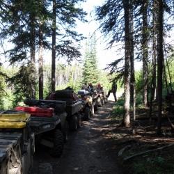 Border between Cariboo and Coast regions
