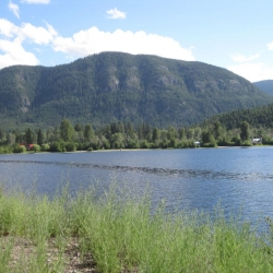 Otter Lake in Tulameen from KVR