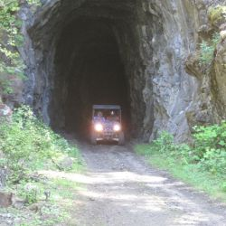 Rail Tunnel on Trans Canada Trail