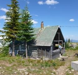 Forestry shack
