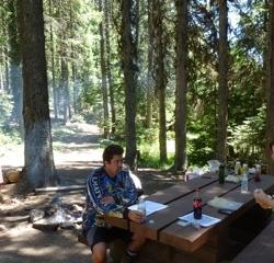 Beverage at camp