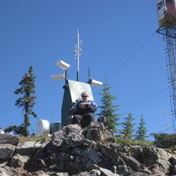 Top of the world and I have cell service how cool