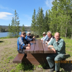 Group ride to Bose Lake near Leighton Lake June 2013
