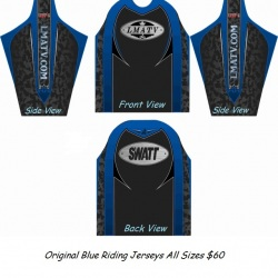 Original Blue Riding Jersey $60
