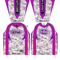 Ladies Pink Camo Riding Jerseys  $60