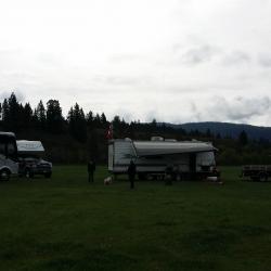 Camp site Logan Lake May long weekend