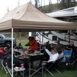 Logan Lake Thanks for the big tent