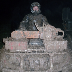 Got a tad muddy tonight.