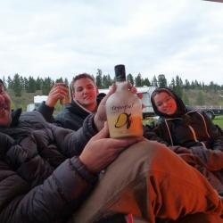 Logan Lake Camp fire moments