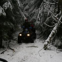 Vedder Mtn snow Ride