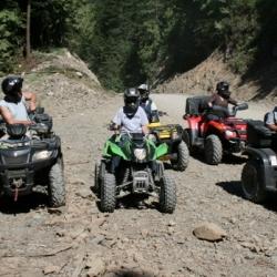 Riding West Harrison